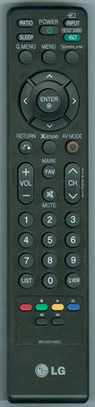 LG MKJ42519625 Genuine  OEM Original Remote