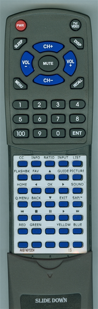 LG AKB74915304 Custom Built Redi Remote