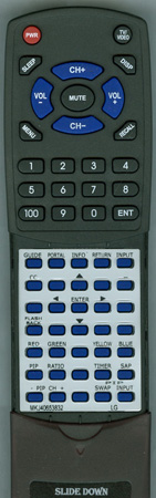 LG MKJ40653832 Custom Built Redi Remote