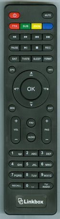 LINKBOX 300A Genuine OEM Original Remote