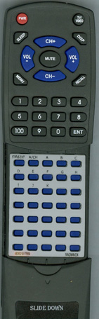 MAGNAVOX 483521917559 00G08SVBBA02 Custom Built RediRemote