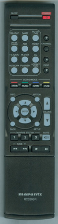 MARANTZ 30701014600AM RC020SR Genuine OEM Original Remote