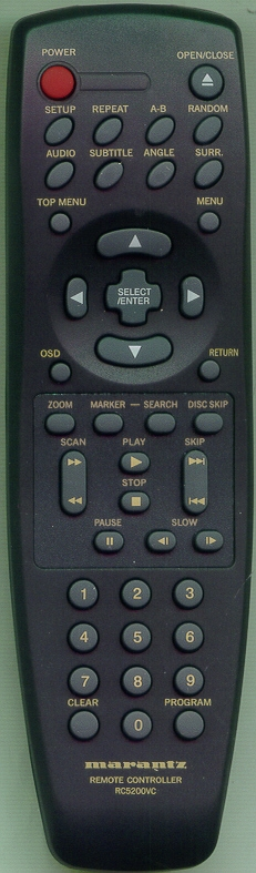 MARANTZ ZK346W0010 Genuine OEM Original Remote
