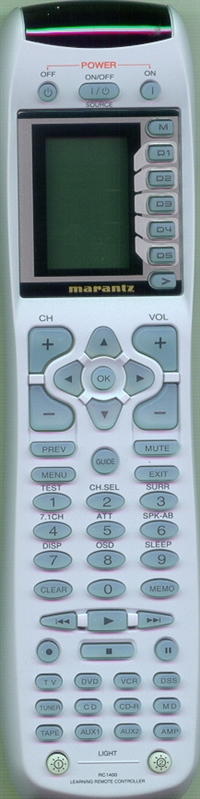 MARANTZ ZK36AW0010 RC-1400 Genuine OEM Original Remote