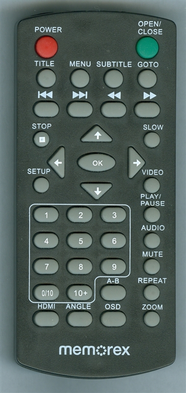 MEMOREX MVD2047M Genuine  OEM original Remote