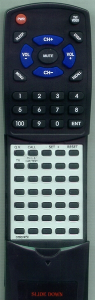 MEMOREX 076R074150 Custom Built Replacement Redi Remote