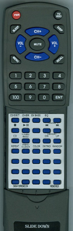 MEMOREX 0MX4100REMCON MX4100 Custom Built Redi Remote