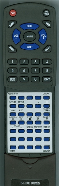 MEMOREX 105-086K MODEL20 Custom Built Redi Remote