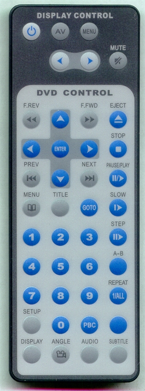MOBILE TV MTV-AD10 Genuine  OEM Original Remote