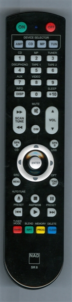NAD RC-SR8 SR8 Genuine OEM Original Remote