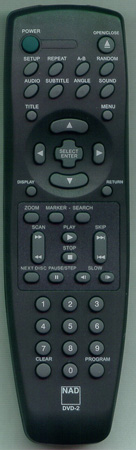 NAD RC-T571 DVD2 Genuine OEM original Remote