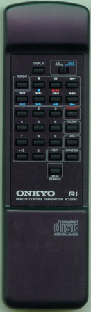 ONKYO 24140239 RC-239C Genuine OEM Original Remote