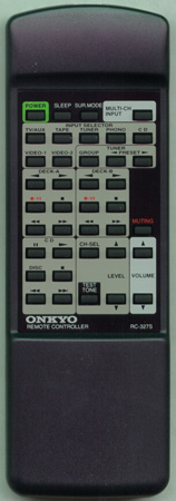 ONKYO 24140327Y RC-327S Genuine  OEM Original Remote