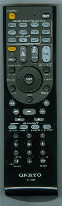 ONKYO 24140763 RC-763M Genuine OEM Original Remote