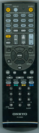 ONKYO 24140836 RC836M Genuine OEM Original Remote