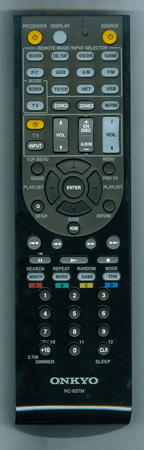 ONKYO 24140837 RC837M Genuine OEM original Remote
