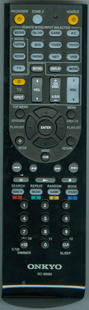 ONKYO 24140866 RC866M Genuine OEM Original Remote