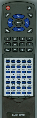 OPPO DIGITAL OPDV971H Custom Built Redi Remote