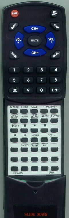 ORION 076R0DC010 Custom Built Replacement Redi Remote