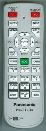 PANASONIC 6451055545 N2QAYA000039 Genuine OEM Original Remote
