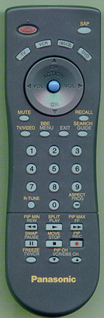 PANASONIC EUR7613Z40 Genuine  OEM Original Remote