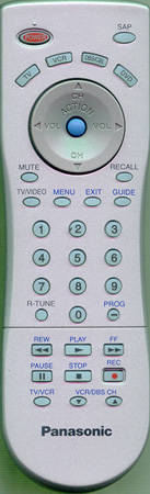 PANASONIC EUR7613Z6A Genuine  OEM original Remote