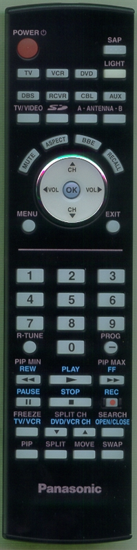 PANASONIC EUR7627Z40 Genuine  OEM Original Remote