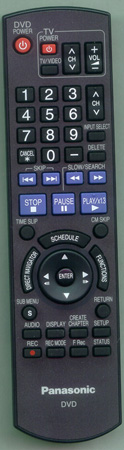 PANASONIC EUR7659T50  Genuine OEM Original Remote