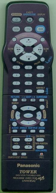 PANASONIC LSSQ0333 Genuine  OEM Original Remote