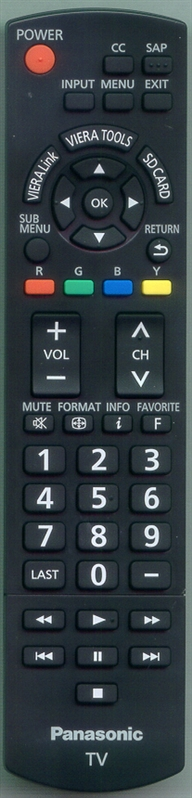 PANASONIC N2QAYB000321 Genuine  OEM Original Remote
