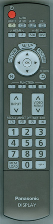 PANASONIC N2QAYB000560 Genuine OEM Original Remote