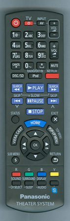 PANASONIC N2QAYB000632 Genuine OEM Original Remote