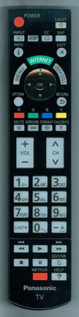 PANASONIC N2QAYB000777S Genuine OEM Original Remote