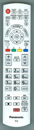 PANASONIC N2QAYB000839 Genuine OEM Original Remote