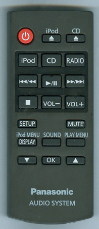 PANASONIC N2QAYC000056 N2QAYC000056 Genuine OEM Original Remote