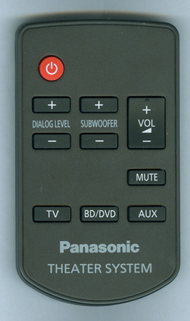 PANASONIC N2QAYC000064 Genuine OEM Original Remote