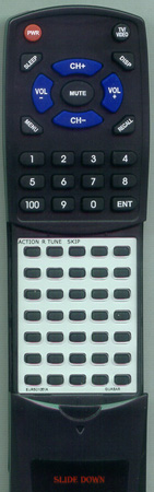 PANASONIC EUR501051A Custom Built Redi Remote