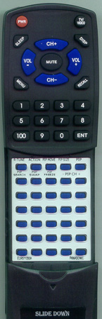 PANASONIC EUR511050A EUR511050A Custom Built Redi Remote