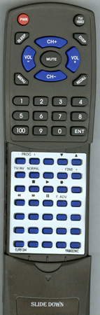 PANASONIC EUR51244 EUR51244 Custom Built Redi Remote