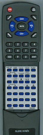 PANASONIC EUR648280 Custom Built Redi Remote