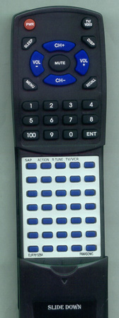 PANASONIC EUR7613Z6A Custom Built Redi Remote