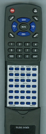 PANASONIC EUR7613Z8B Custom Built Redi Remote