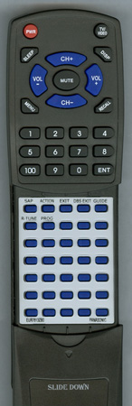 PANASONIC EUR7613ZB0 Custom Built Redi Remote
