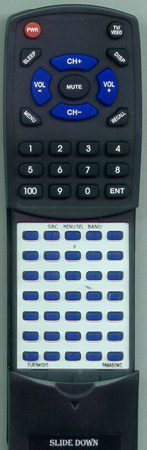 PANASONIC EUR7641010 Custom Built Redi Remote