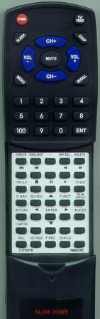 PANASONIC EUR7659T60 Custom Built Redi Remote