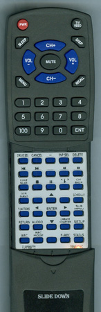 PANASONIC EUR7659T70 Custom Built Redi Remote