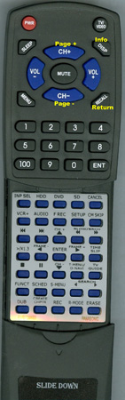 PANASONIC EUR7729KB0 EUR7729KB0 Custom Built Redi Remote