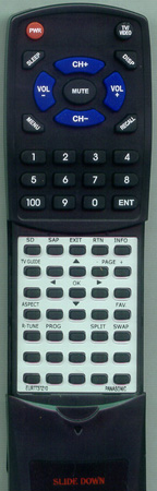 PANASONIC EUR7737Z10 Custom Built Redi Remote