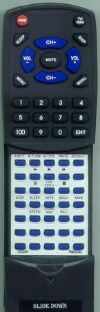 PANASONIC LSSQ0341 Custom Built Redi Remote