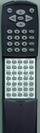 PANASONIC LSSQ0374 Custom Built Replacement Redi Remote